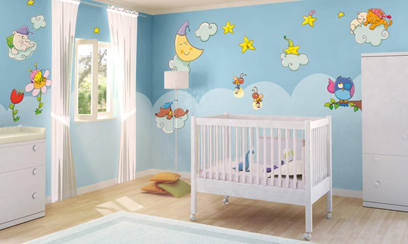 Stickers murali bambini cameretta sogni d 39 oro leostickers - Adesivi murali per camerette ...